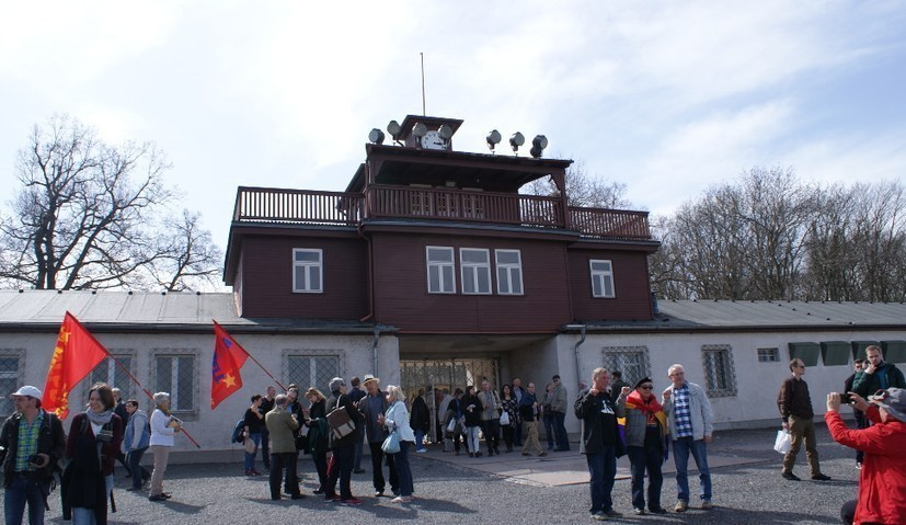 Massives Polizeiaufgebot an der Gedenkstätte Buchenwald