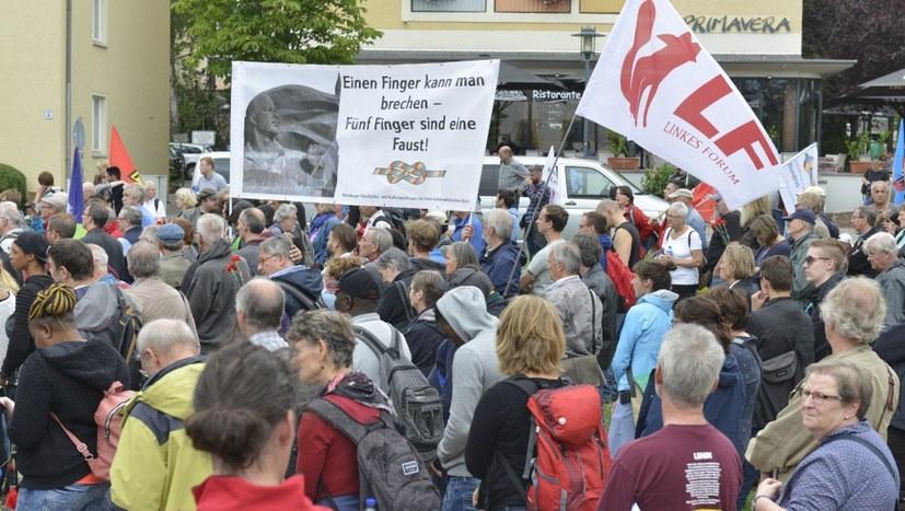 Filmdokumentation zur Protestdemonstration durch Weimar online