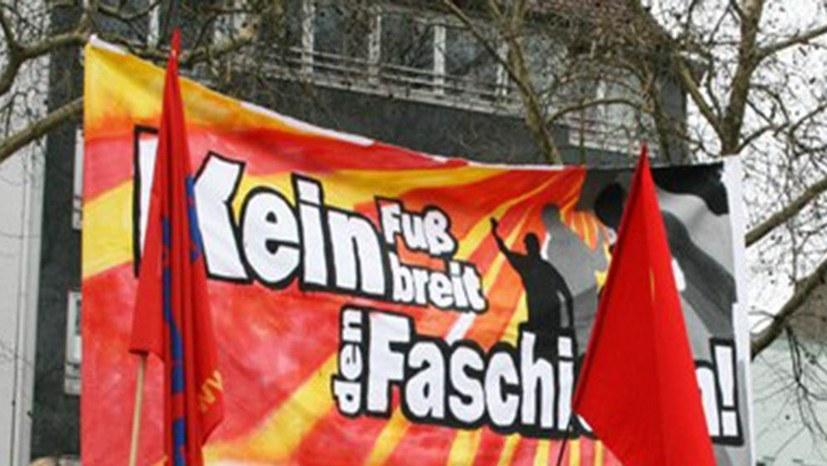 """Marsch """"besorgter Bürger"""" unter neofaschistischer Führung verhindert"""
