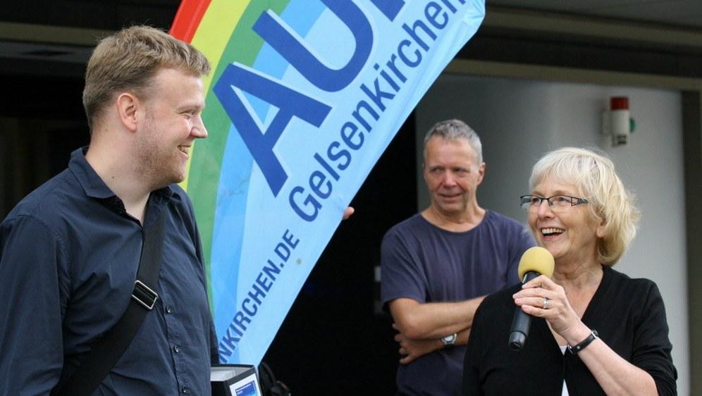 Generationswechsel: Jan Specht und Monika Gärtner-Engel (Foto: RF)
