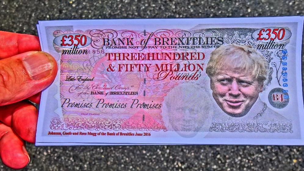 Boris Johnson - eine ungedeckter Scheck für viele Briten (Foto: David Holt unter CC BY 2.0