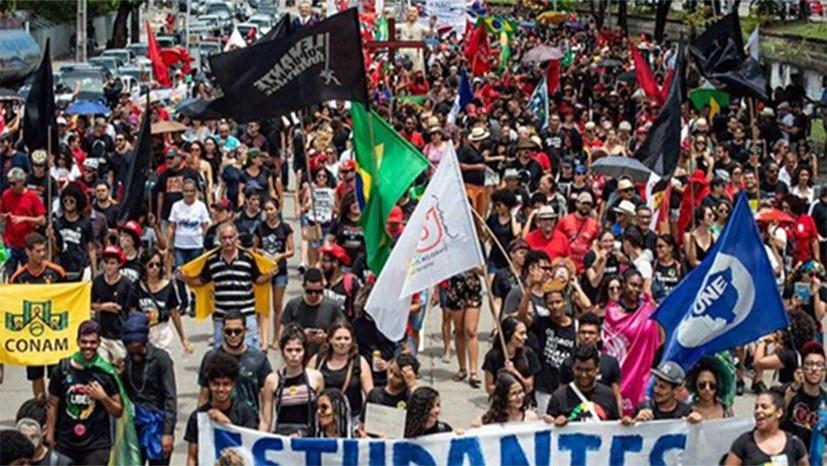 Am Samstag Zehntausende auf der Straße gegen Bolsonaro-Regierung