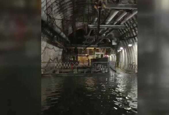 Siebte Sohle bei Prosper-Haniel steht unter Wasser