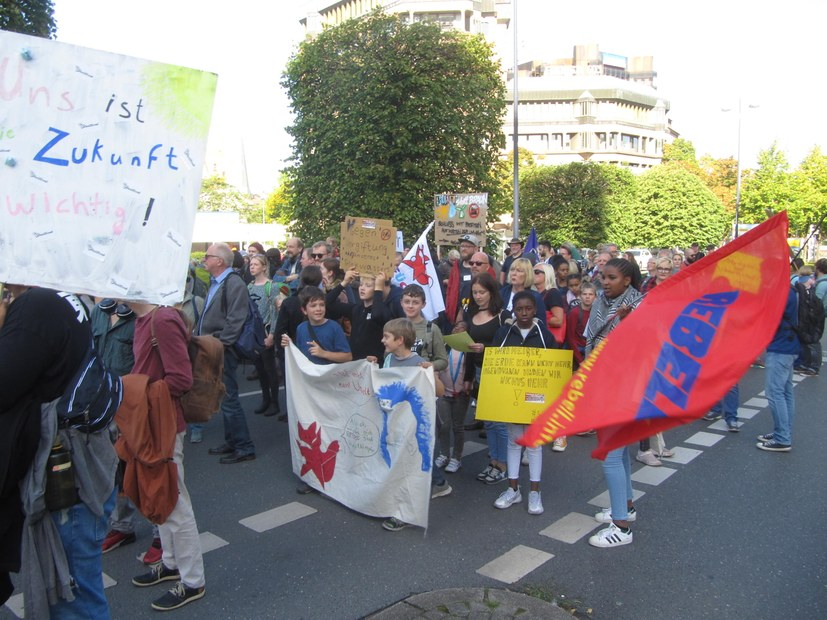 Beeindruckende Kundgebung und Demonstration