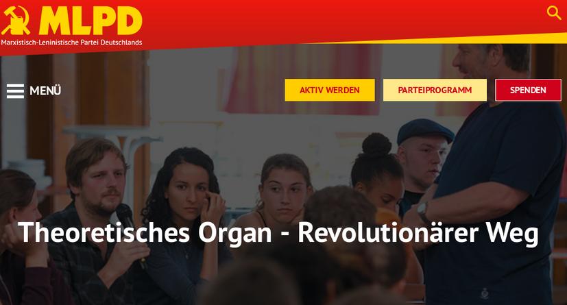 Ein Besuch auf der Homepage des REVOLUTIONÄREN WEG lohnt sich immer