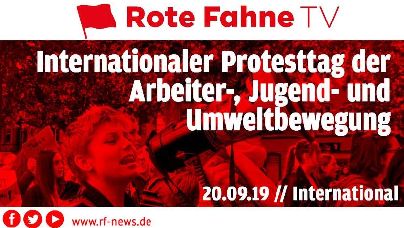 Internationaler Protest- und Streiktag der Arbeiter-, Jugend- und Umweltbewegung