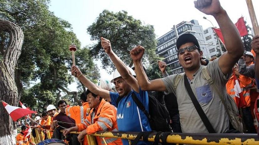 Bergarbeiter kämpfen international gegen Profit- und Raubbaupolitik der Konzerne
