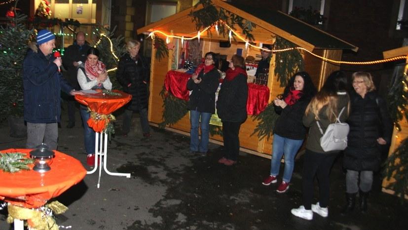 Traditioneller Weihnachtsmarkt der Horster Mitte öffnet morgen um 17 Uhr
