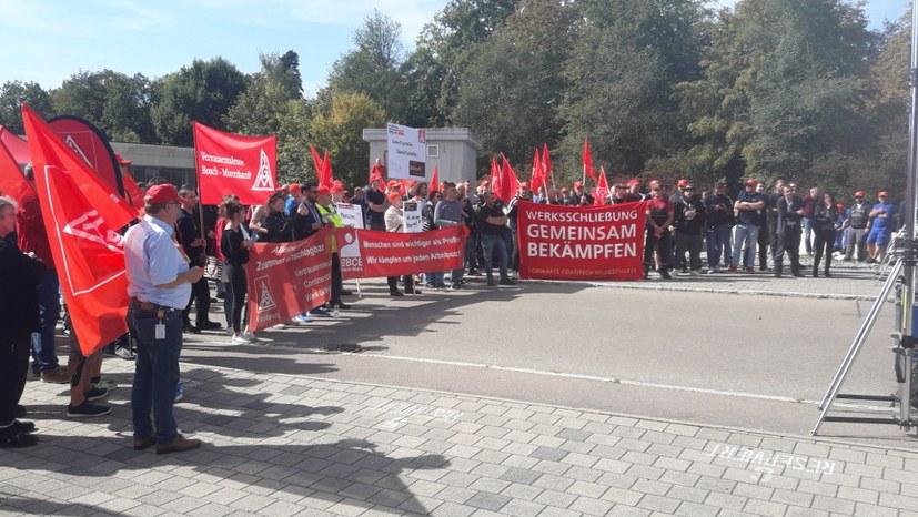 """""""Nein"""" zur Schließung des Conti-Standorts Oppenweiler"""
