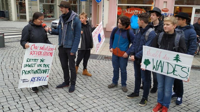 Erfolgreiche FFF-Aktion in Ilmenau