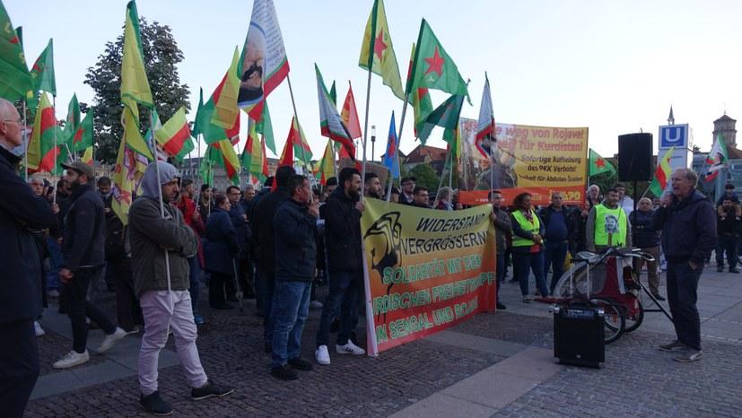 Ständig steigende Teilnehmerzahlen bei den Protesten