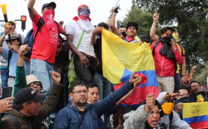 Volksrebellion und Generalstreik in Ecuador