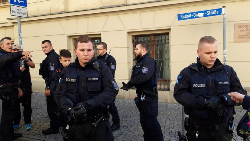 Freispruch für Traudel König – Polizeiwillkür erster Güte in Gera und Eisenach