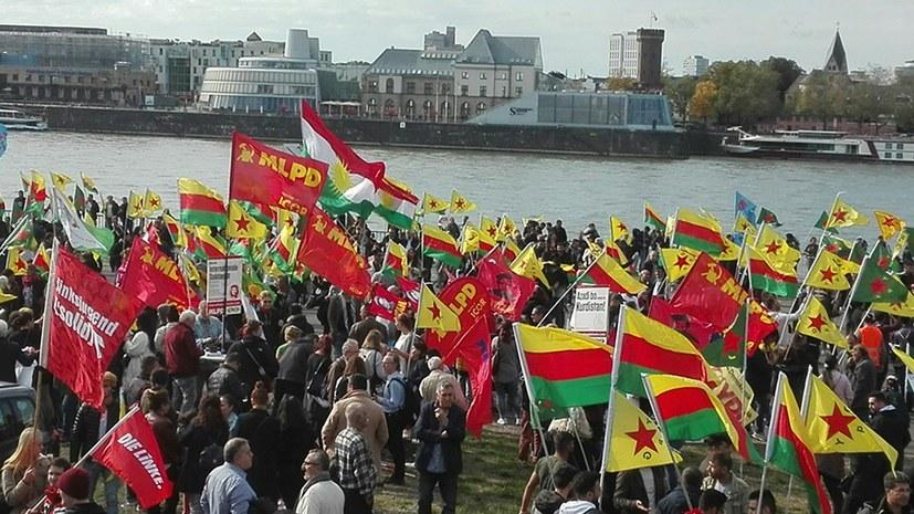 Solidaritätsdemonstration in Köln am 12. Oktober