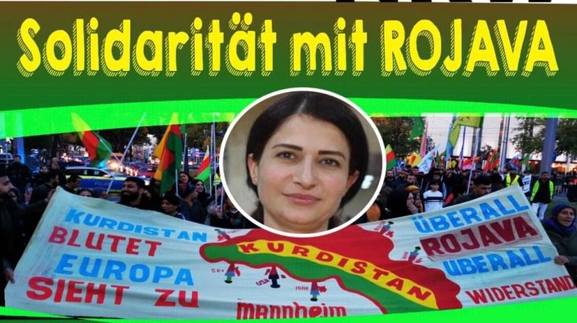 """Demonstration """"Solidarität mit Rojava"""""""