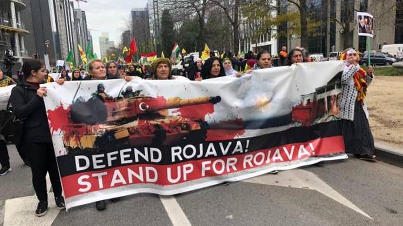"""Nein zu jedem imperialistischen """"Friedens""""-Diktat in Rojava (Nordostsyrien)!"""