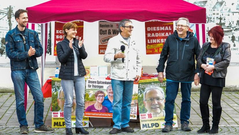 Kontrastprogramm zum Wahlkampf der bürgerlichen Parteien