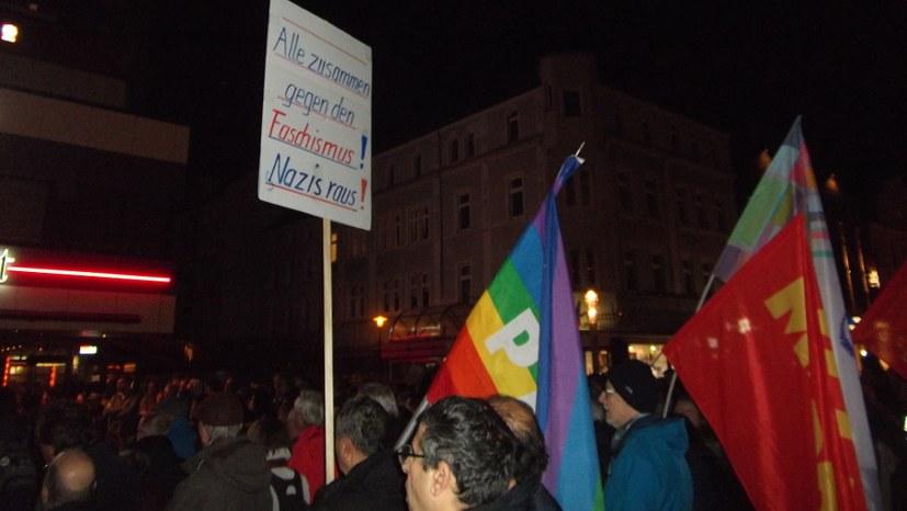 Erfolg für überparteilichen antifaschistischen Protest