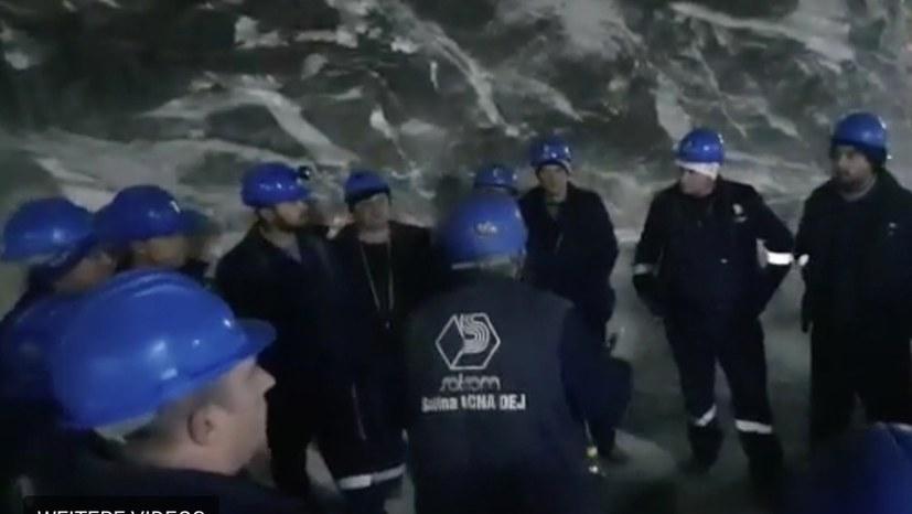 Bergarbeiterstreiks in mehreren Minen