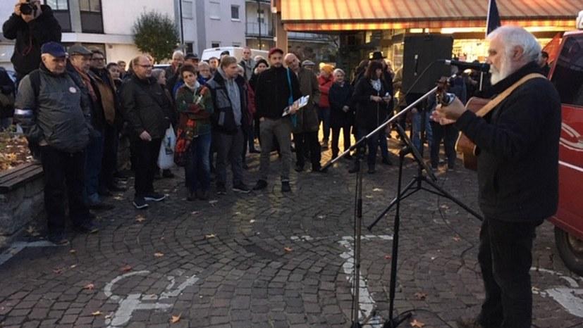 Antifaschistische Aktion in Aschaffenburg