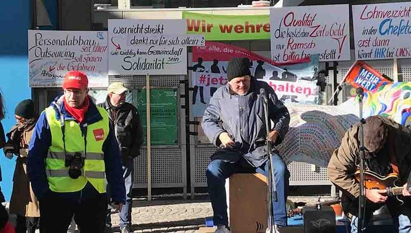 Streik beim Bayerischen Rundfunk