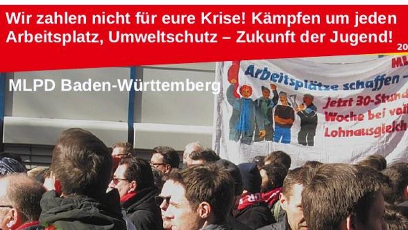 """""""Wir zahlen nicht für eure Krise!"""""""