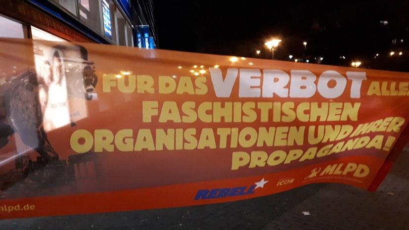 Protest gegen Faschisten erhält viel Zuspruch