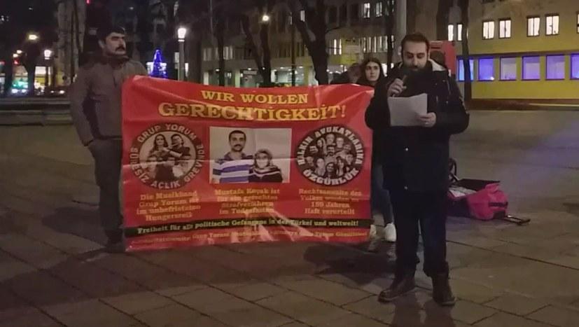 Solidarität mit Grup Yorum, Mustafa Kocak und den Anwälten des Volkes!