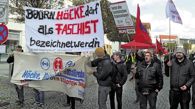 Kampf der akuten faschistischen Tendenz in Deutschland