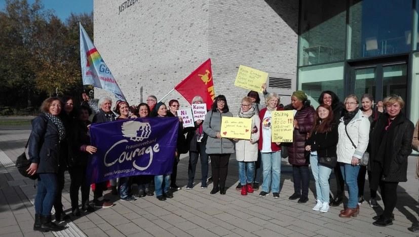 1. Prozesstag im Fall Seda: Unsere Solidarität ist gefragt