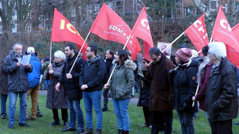 Weltweite Proteste gegen das faschistische iranische Regime