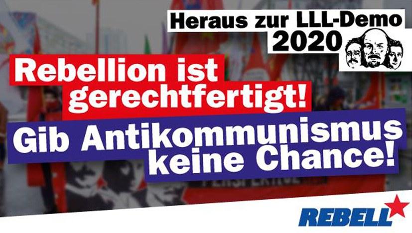 Auf zu Lenin-Liebknecht-Luxemburg!