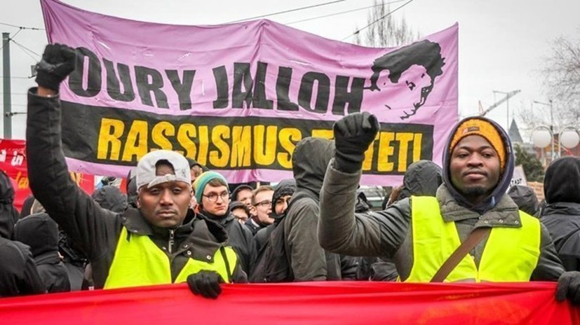 Demonstration: Oury Jalloh - das war Mord!