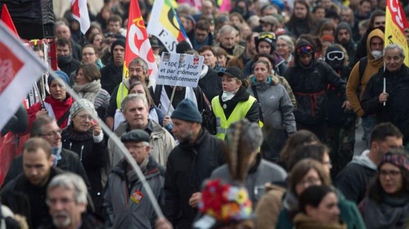 Erneut 500.000 bei landesweitem Protesttag
