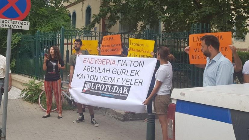 Freiheit für Abdullah Gürlek und Vedat Yeler!