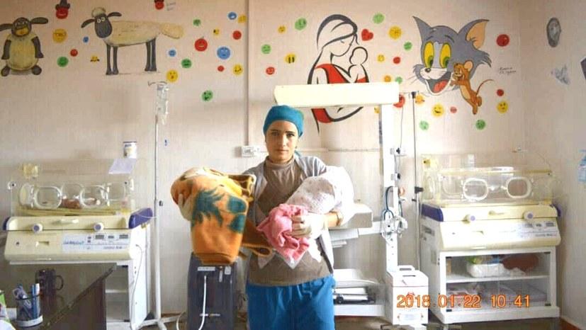 Kobanê: Beeindruckende Bilanz der ICOR-Geburtsklinik