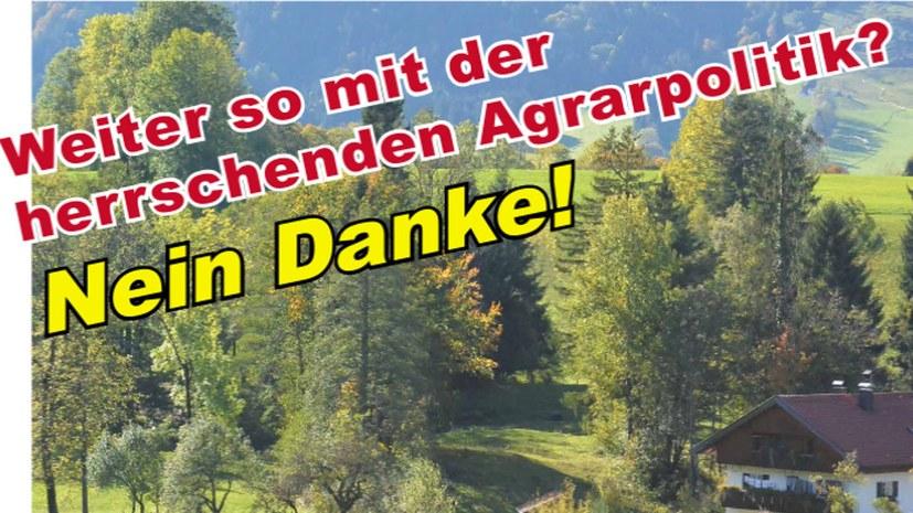 """""""Statt Unsinn der Düngeverordnung – wirksame Maßnahmen für die Umwelt!"""""""