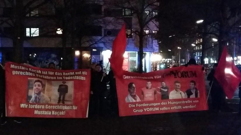 Ein Herz und eine Stimme für Grup Yorum und Mustafa Kocak