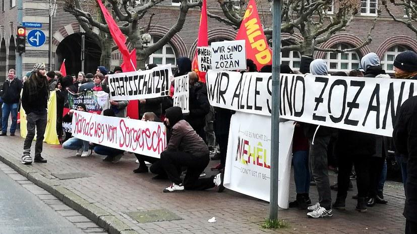 Fall Zozan G: Breite Solidarität durchkreuzt Staatsschutz-Pläne