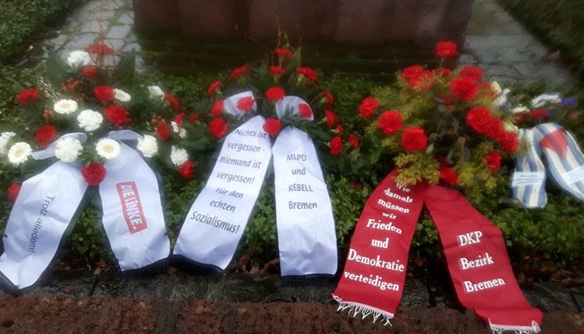 Bremer Räterepublik: Gedenkfeier von breitem Bündnis getragen