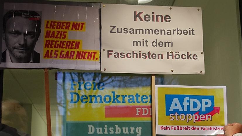 Gemeinsamer Kampf gegen Rechtsentwicklung und faschistische Tendenz