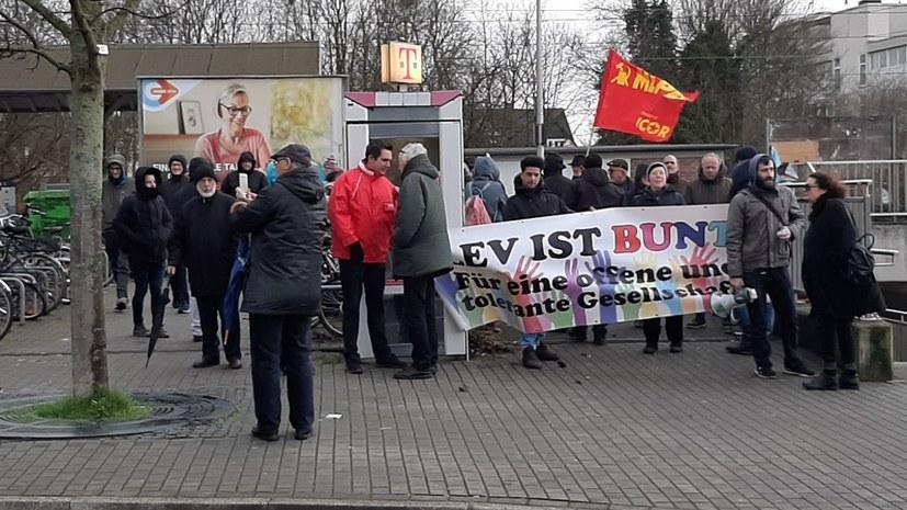 Erfolgreicher antifaschistischer Protest