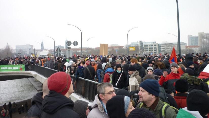 Breiter antifaschistischer Protest