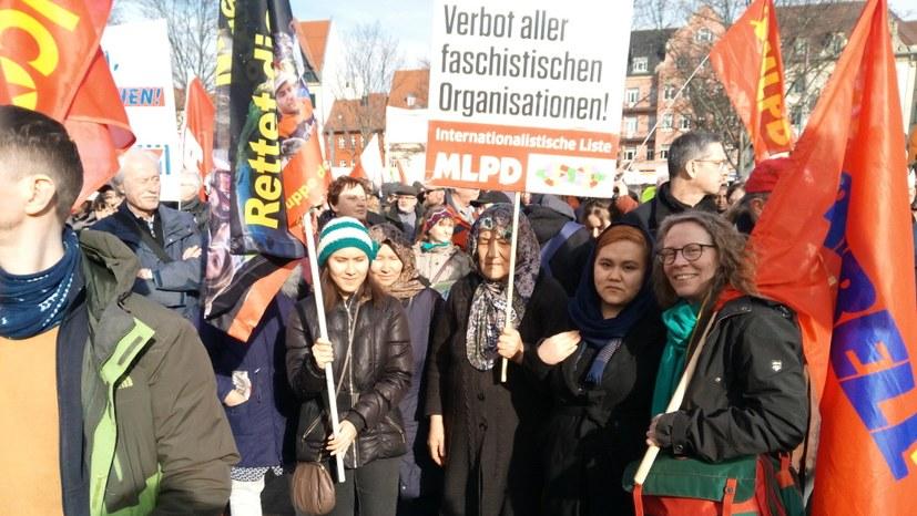 """""""Unteilbar""""-Demo im Zeichen wachsender Kritik am Antikommunismus"""