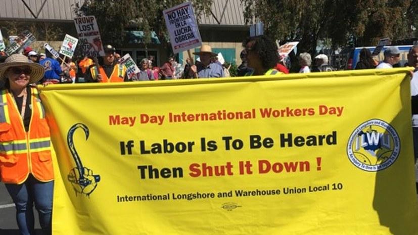 Solidarität mit der US-Gewerkschaft ILWU
