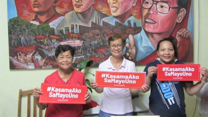 Solidarität gegen geplante Honda-Schließung in St. Rosa in Laguna