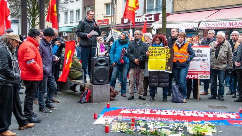 Proteste gegen faschistischen Terrorakt halten an