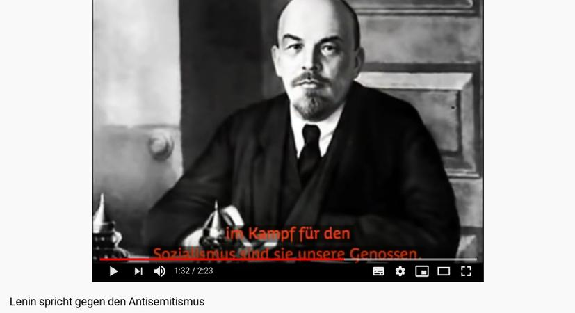 Lenin gegen den Antisemitismus