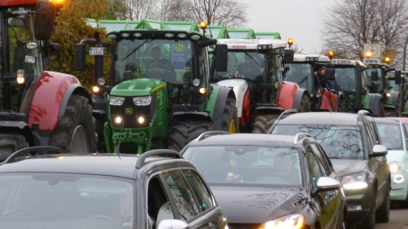 Bauernproteste gehen weiter - Richtungsstreit entfaltet sich
