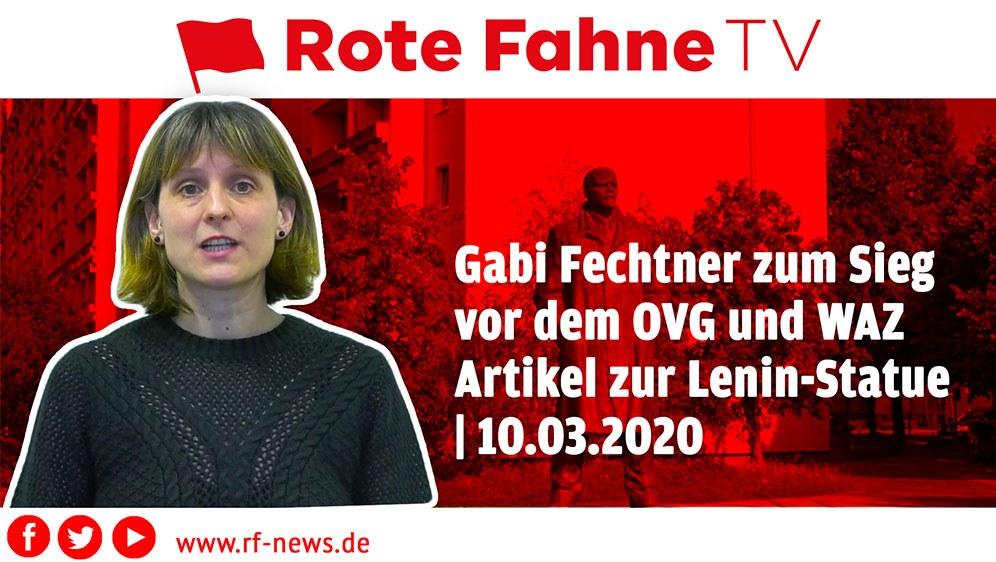 Gabi Fechtner über den heutigen Sieg in Sachen Lenin